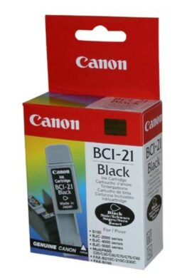 Ink.cartridge CANON BCI-21Bk, black  (BCI21B)