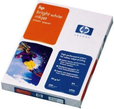 HP Bright White Inkjet Paper, A4, 250 sheets(C5977B)