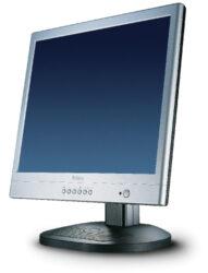 "Monitor 17"" BELINEA LCD 101735, analog/digit., audio, black-silver-0.27 mm, 1280x1024,300 cd/m3, 500:1, 150°/135°, rise/fall 3/10 ms, h/v 31-80kHz / 56-75Hz, bandwidth 135 MHz, TCO 99"