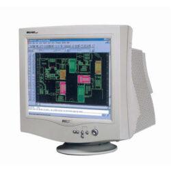 "Monitor 17"" BELINEA 103075, TCO03 Dynaflat CRT-0,27mm, 800x600/110 Hz, 1024x768/85 Hz, 1280x1024/65 Hz, h/v 30-72 kHz/50-160Hz, bandwidth 110 MHz,  E2000"