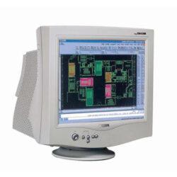 """Monitor 19"""" BELINEA 106055, TCO03 Dynaflat CRT-0.23mm, 800x600/120 Hz, 1024x768/100 Hz, 1280x1024/85 Hz, h/v 30-78 kHz/50-160Hz, bandbreite 200 MHz, E2000"""