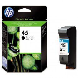 Ink.cartridge HP51645A, black, 42ml, Nr.45-black, c. 830 pages with 5% sheathing, for printers DJ-710C/ 720C/ 8xxC/ 9xxC/ 11xxC/ 1220C/ 1600C