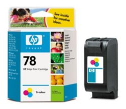 Ink.cartridge HPC6578A, color, 38ml, Nr.78 - c. 900 pages, DJ-9xx/1220/3820/6122/6127/9300, OfficeJet G55/G85/K60//K80/V40/G95/5510, PSC 950/750, ColorCopier 290