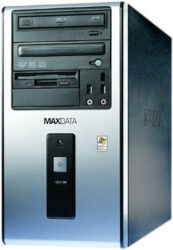 PC MAXDATA Favorit 3000I - Intel Pent.4-3 GHz, RAM 512MB, HD 160B, VGA FX5800, LAN,   DVD+/-RW, FaxM 56, Miditower, Windows XP Home OEM