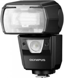 Blesk Olympus FL-36-Externí blesk s množstvím funkcí, podpora FP režimu, pomalá synchronizace, synchronizace na druhou lamelu, potlačení červených očí, zoomovatelný reflektor, bleskové korekce.