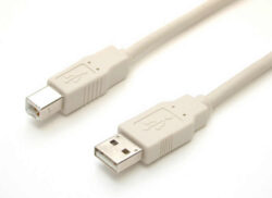 Cable USB, A-B, 3.0m